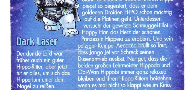 Happy Hippo Star Wars : tous les BPZ