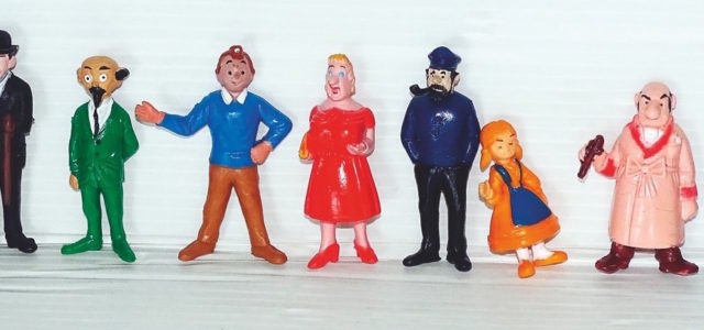 Objets Tintin (suite)